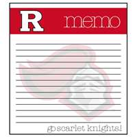 Rutgers Scarlet Knights Memo Note Pad - 2 Pads