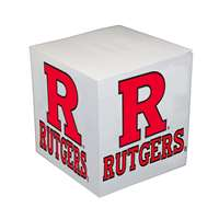 Rutgers Scarlet Knights Sticky Note Memo Cube - 550 Sheets