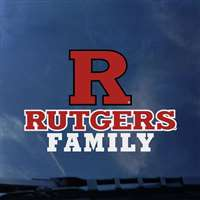 Rutgers Scarlet Knights Transfer Decal - Family