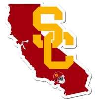 NCAA Siskiyou Sports Fan Shop USC Trojans Beachfarer Bottle Opener Sunglasses One Size Team Color