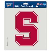 "Stanford Cardinal Full Color Die Cut Decal - 8"" X 8"""