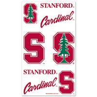 Stanford Cardinal Temporary Tattoos