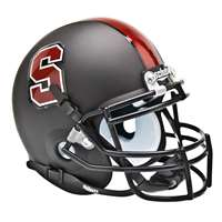 Stanford Cardinals Mini Helmet by Schutt - Matte Black