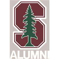 Stanford Cardinal Transfer Decal - Alumni