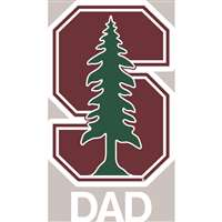 Stanford Cardinal Transfer Decal - Dad