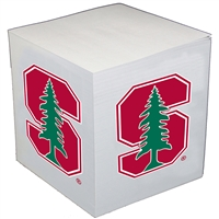 Stanford Cardinal Cube Note Card Holder