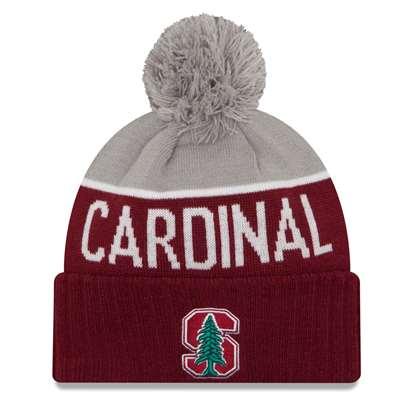 Stanford Cardinal New Era Sport Knit Pom Beanie 6fe77b393bd