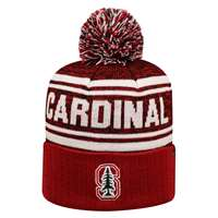 Stanford Cardinal Top of the World Driven Pom Knit