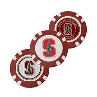 Stanford Cardinal Golf Poker Chip