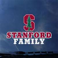 Stanford Cardinal Transfer Decal - Family