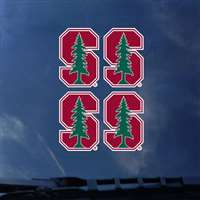 Stanford Cardinals Transfer Decals - Set of 4