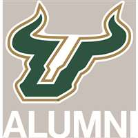 South Florida Bulls Transfer Decal - Alumni