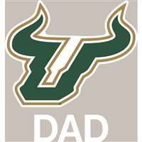 South Florida Bulls Transfer Decal - Dad