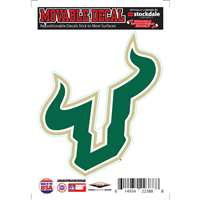 South Florida Bulls Repositionable Vinyl Decal