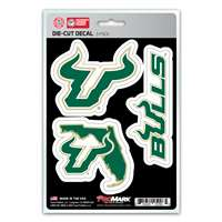 South Florida Bulls Decals - 3 Pack
