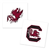 South Carolina Gamecocks Temporary Tattoo - 4 Pack