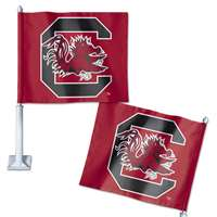 South Carolina Gamecocks Car Flag