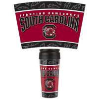 South Carolina Gamecocks 16oz Plastic Travel Mug