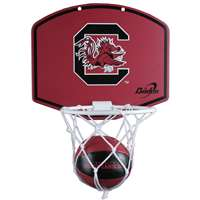 South Carolina Gamecocks Mini Basketball And Hoop Set