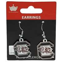 South Carolina Gamecocks Dangler Earrings