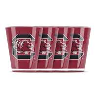 South Carolina Gamecocks Shot Glass - 4 Pack