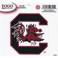 "South Carolina Gamecocks Logo Decal - 9"" x 8"""