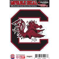 South Carolina Gamecocks Repositionable Vinyl Decal