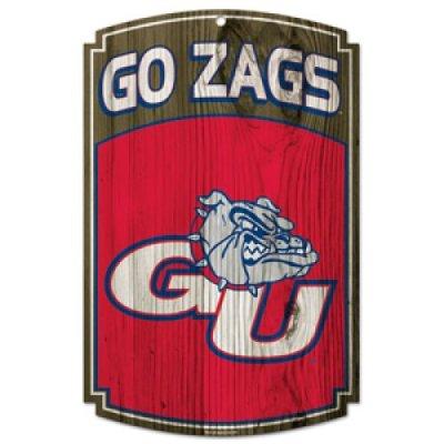 Gonzaga Bulldogs Wood Sign
