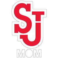 Saint John's Red Storm Transfer Decal - Mom