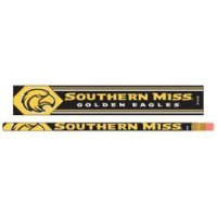 Southern Mississippi Pencil 6-pack