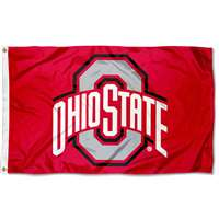 Ohio State Buckeyes 3' x 5' Flag - Red