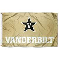 Vanderbilt Commodores 3' x 5' Flag - Vegas Gold
