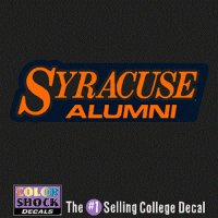 Syracuse Orange Decal - Syracuse Over Alumni