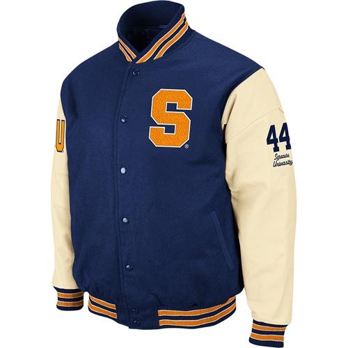 Syracuse Orange Varsity Letterman Jacket