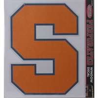 Syracuse Orange Perforated Vinyl Window Decal