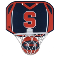 Syracuse Orange Mini Basketball And Hoop Set