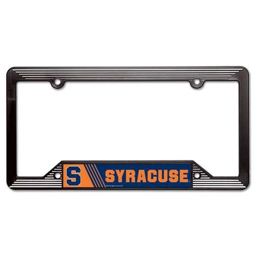 Syracuse Orange Plastic License Plate Frame