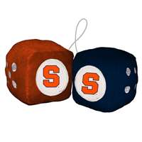Syracuse Orange Fuzzy Dice