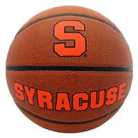 Syracuse Orange Men's Composite Leather Indoor/Outdoor Basketball