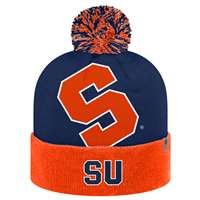 Syracuse Orange Top of the World Blaster Knit Beanie