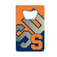 Syracuse Orange Steel Credit Card Bottle Opener
