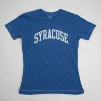 Syracuse T-shirt - Ladies By League - Regatta Blue