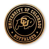 Colorado Buffaloes Alderwood Coasters - Set of 4
