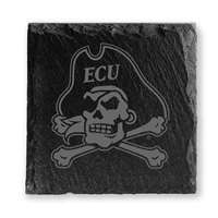 East Carolina Pirates Slate Coasters - Set of 4