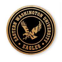 Eastern Washington Eagles Alderwood Coasters - Set of 4