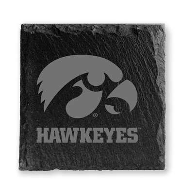 Iowa Hawkeyes Slate Coasters - Set of 4