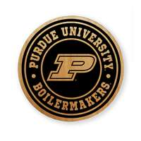 Purdue Boilermakers Alderwood Coasters - Set of 4