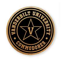 Vanderbilt Commodores Alderwood Coasters - Set of 4