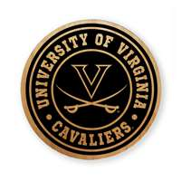 Virginia Cavaliers Alderwood Coasters - Set of 4