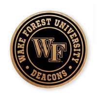 Wake Forest Demon Deacons Alderwood Coasters - Set of 4